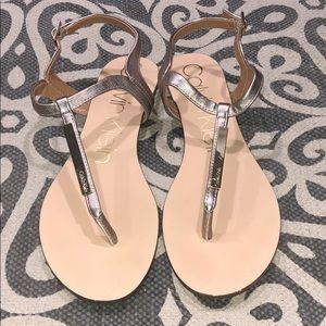 Calvin Klein Sandals, 8.5
